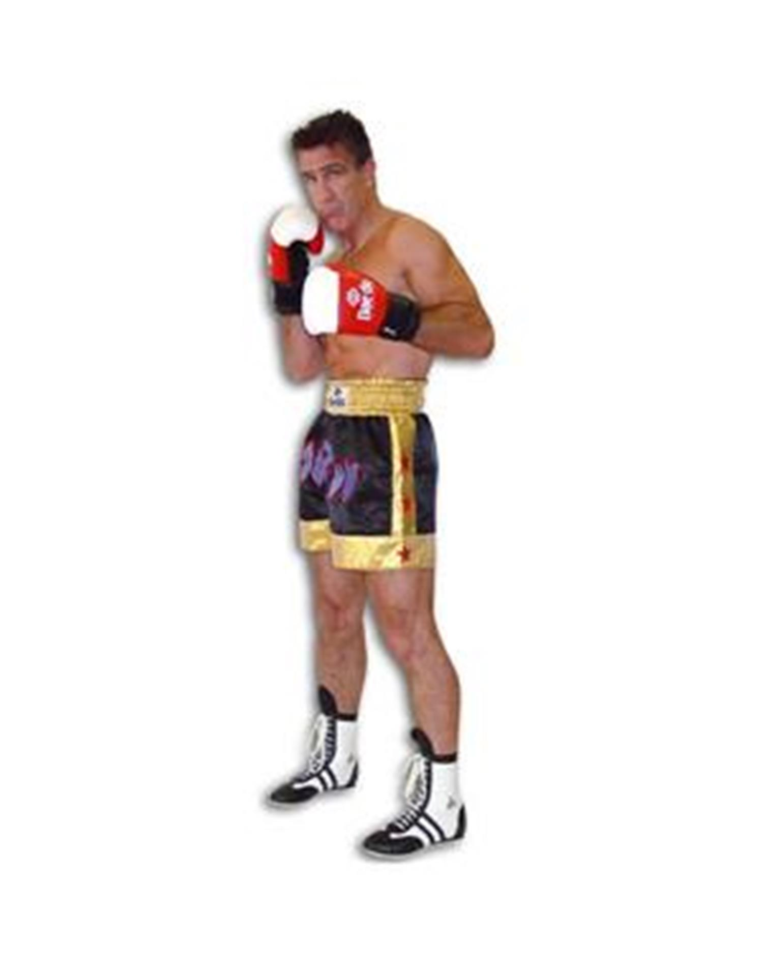 Dae Do Pantalone Nero Thai Boxe