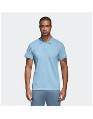 ADIDAS Polo Adidas Essentials Basic (S - AZZURRO)