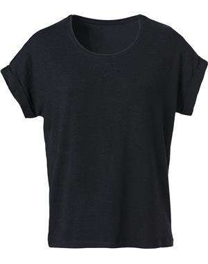 NewWave T-Shirt Donna Loose-Fit (S - NERO)