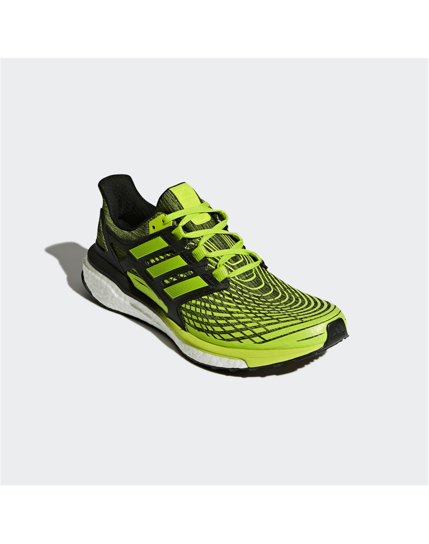 ADIDAS Scarpa Energy Boost M (44 - LIME - NERO)