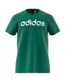ADIDAS T-SHIRT ADIDAS SLICED LINEAR VERDE