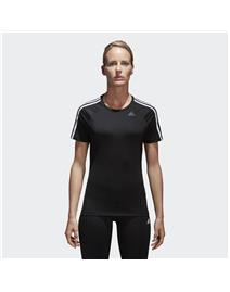 ADIDAS T-SHIRT DONNA D2M 3 STRIPES TEE