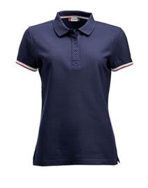 NewWave Polo donna  clique newton colletto colorato