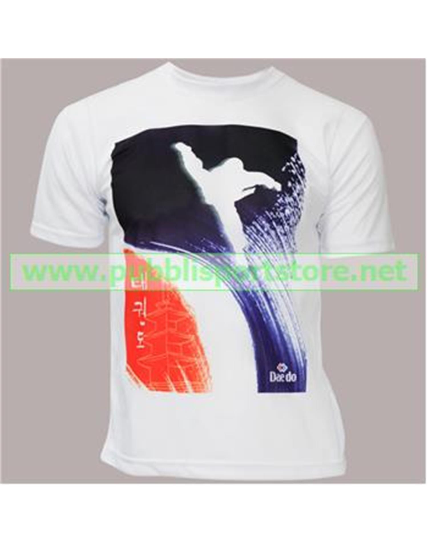 Dae Do T-shirt Pagoda Bianco